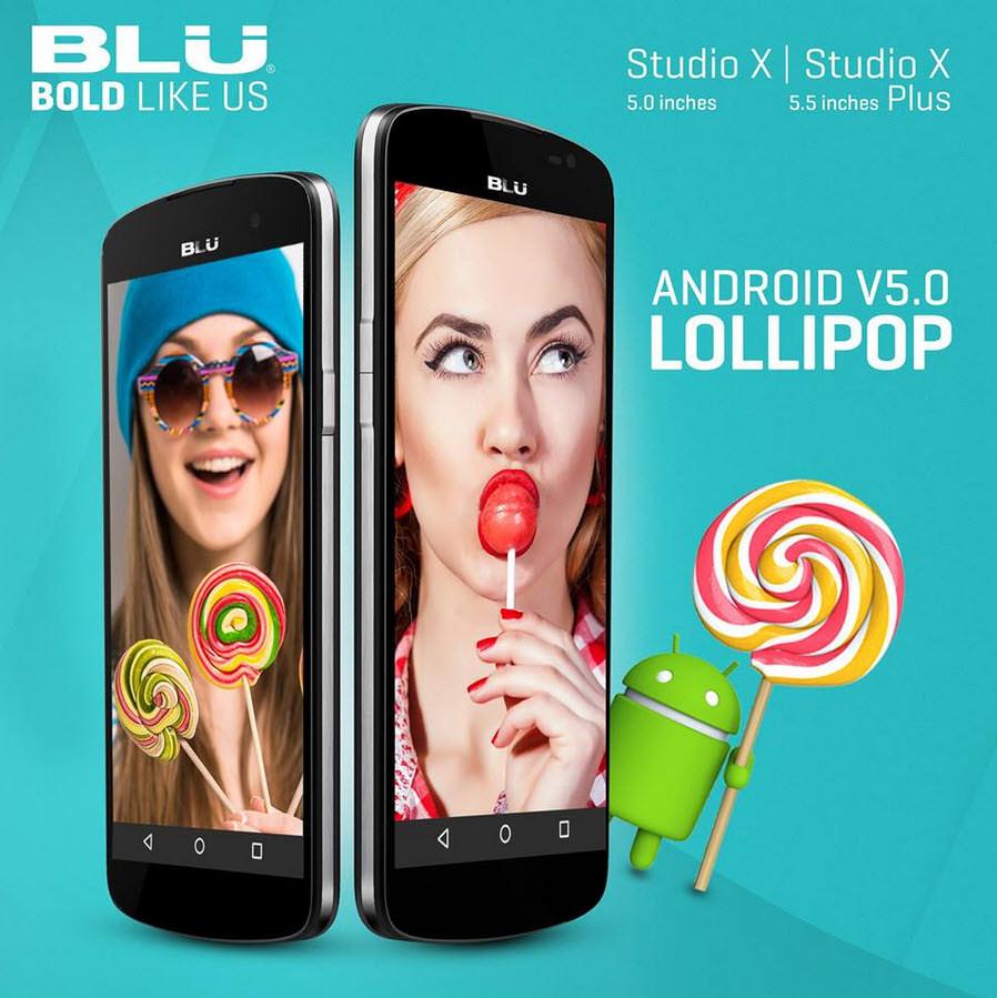BLU anuncia actualización Lollipop 5.0 para 10 teléfonos Android