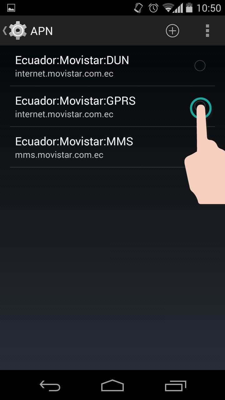 Cómo configurar el APN (Internet Móvil 3G, 4G) en Android