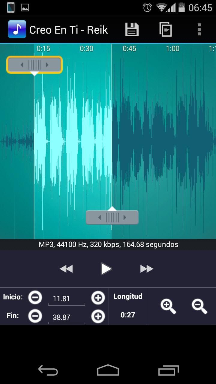 Convertir MP3 a RINGTONE o tono en tu Android