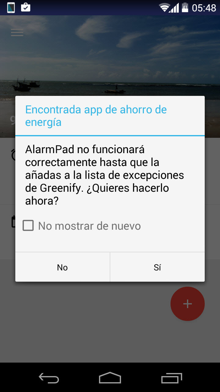 Cuidado con las APPS de ahorro de batería, que «desactivan» las notificaciones (EJ: Greenify)