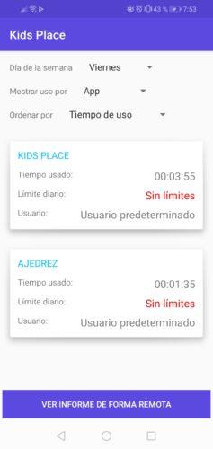 estadisticas uso aplicaciones de niños