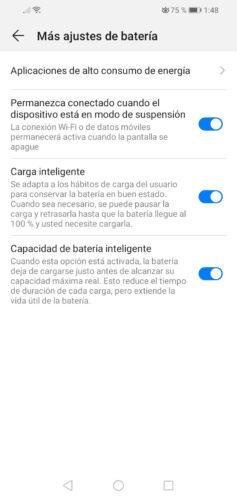 desactivar wifi con pantalla apagada