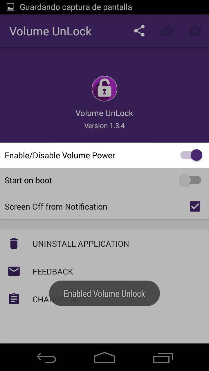 Volume UNLOCK: Cómo encender la pantalla con el botón de volumen