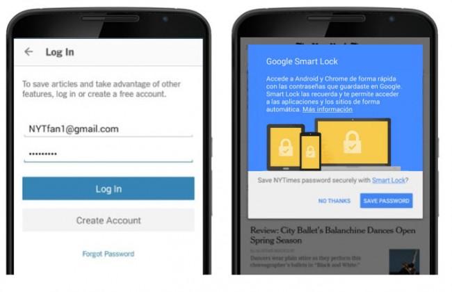 google smart lock login 2