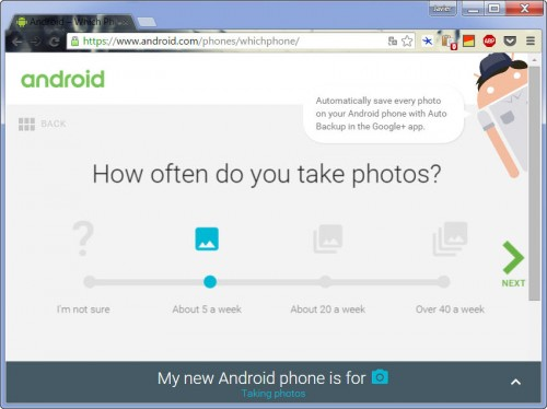 google which phone recomencacion