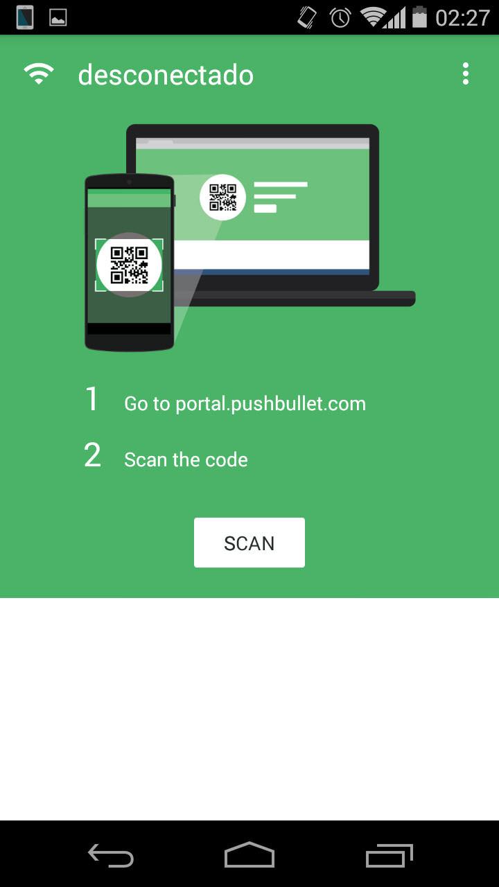 Pushbullet Portal: Pasa archivos desde el PC hacia el celular SIN cables