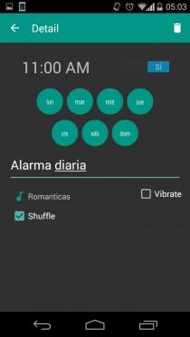 playlists spotify alarma