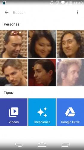 reconocimiento fácial google fotos