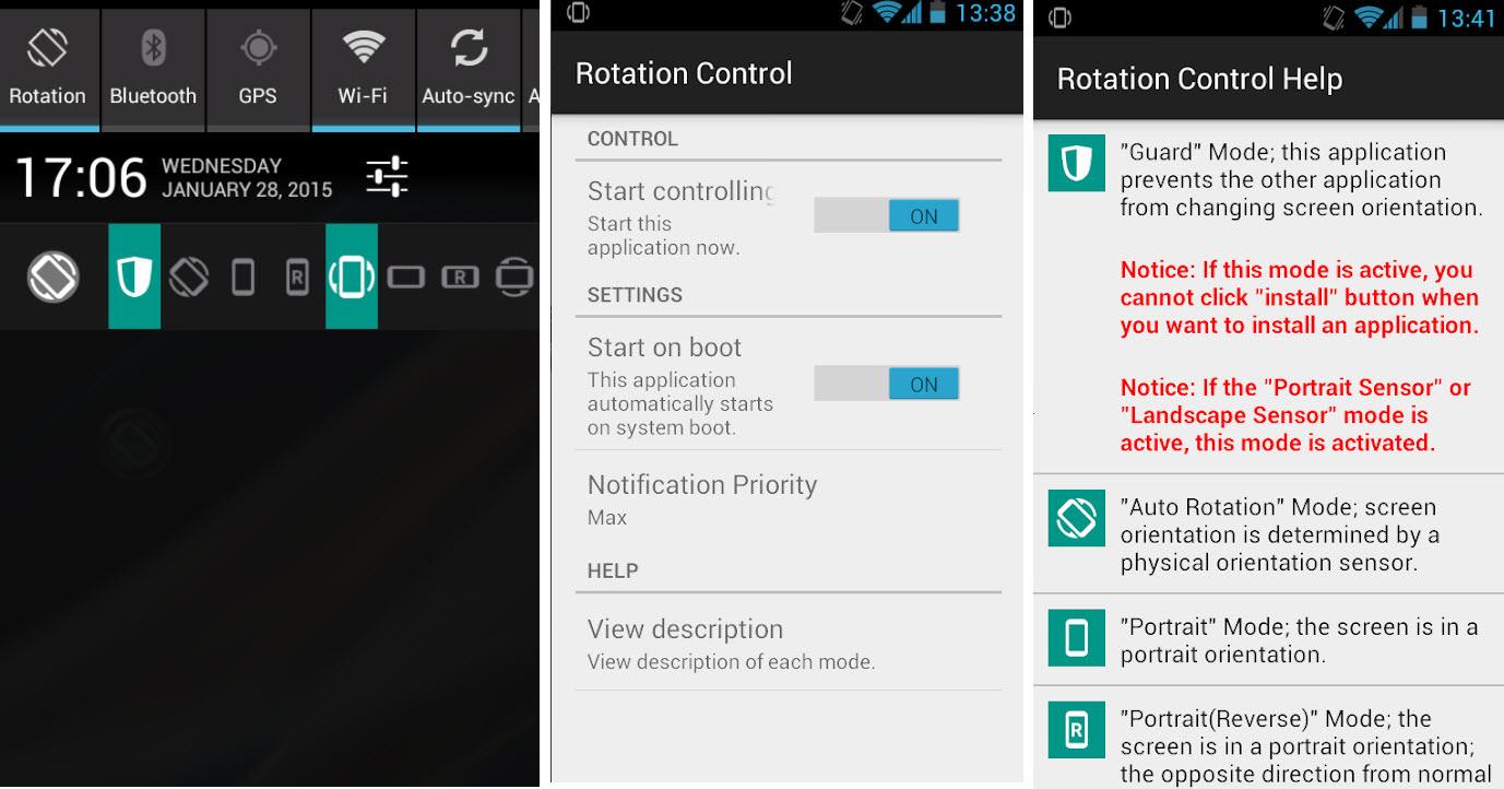 Cómo ROTAR girar la pantalla del celular (Manual o Automático)