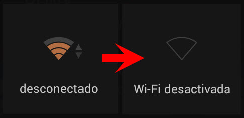 tener activado el wifi gasta bateria
