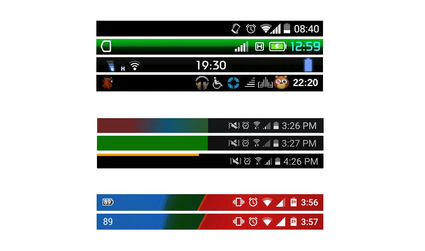 Cómo Cambiar Icono De Batería Y Barra De Estado Android Jefe