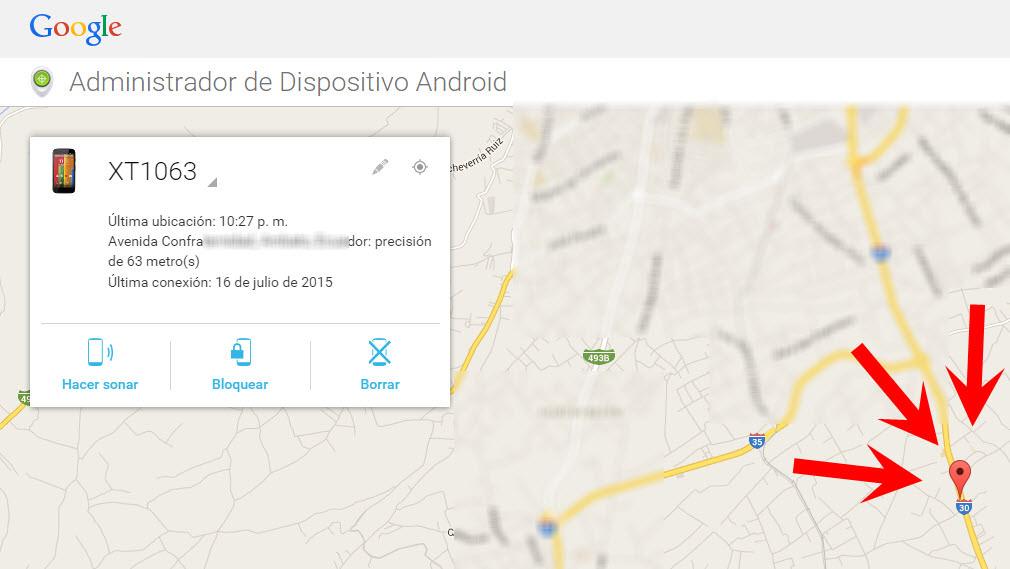 como recuperar android robado perdido