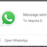 """Enviar un WhatsApp hablando? Ya puedes hacerlo con """"Google Now"""""""