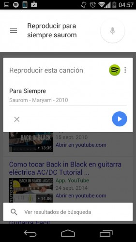 google aplicacion predeterminada comandos voz