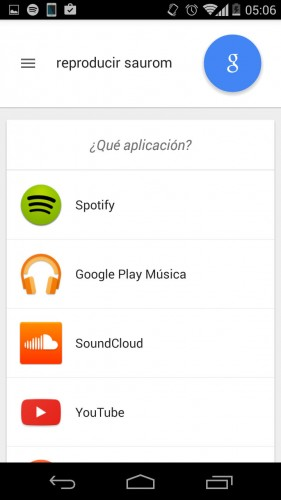 google aplicacion predeterminada comandos voz configurar