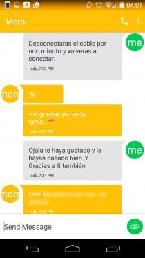 mandar mensajes de texto android