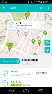 redes wifi metros distancia android