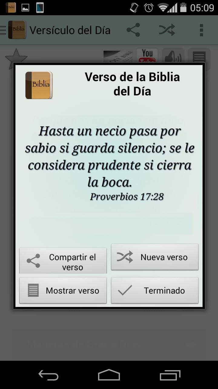 Recibe Versículos Diarios De La Biblia Con Esta App Android Jefe