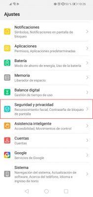 ajustes android pantalla fija 1
