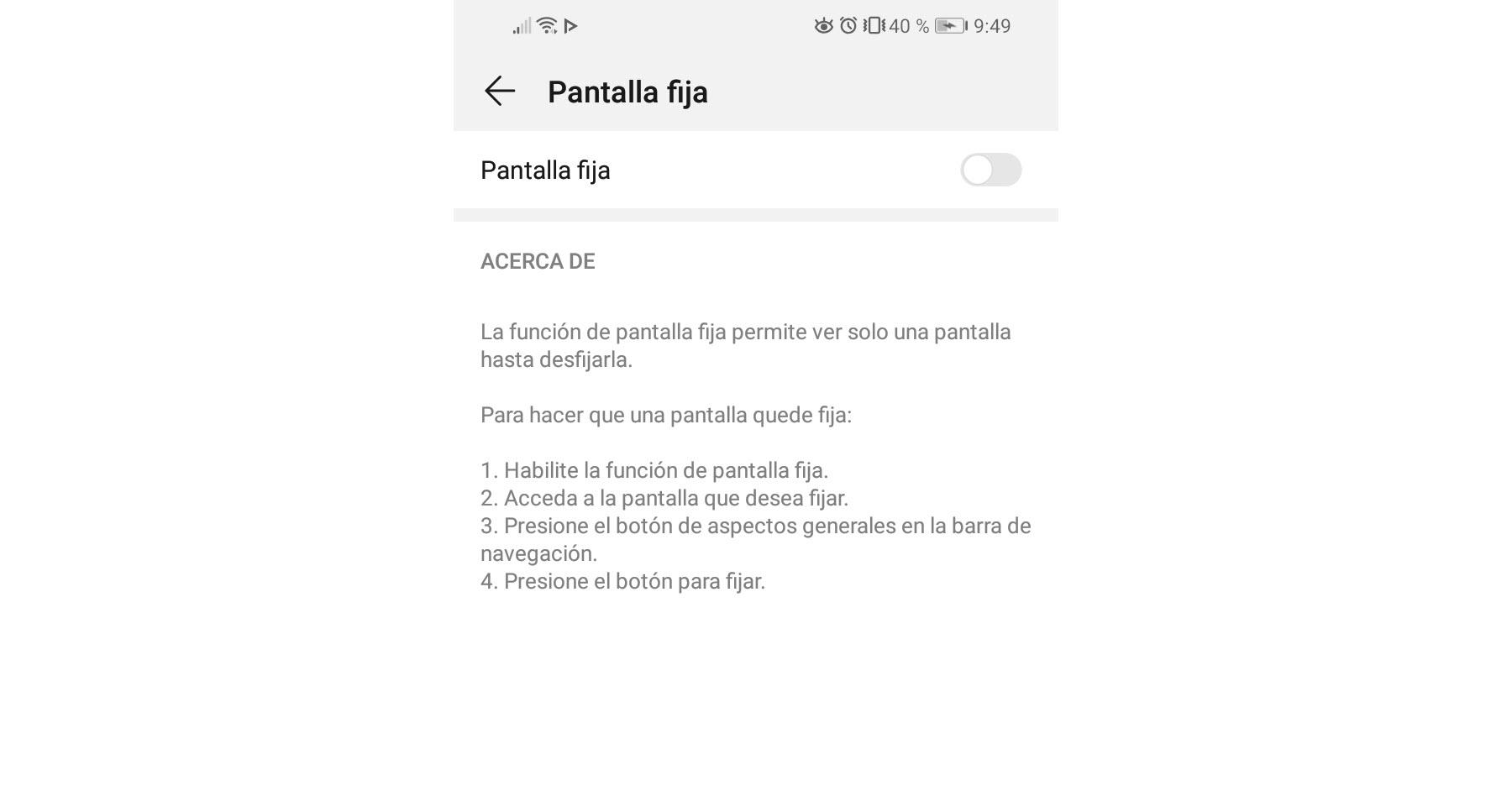 Cómo bloquear el celular a una sola aplicación (Fijar pantalla)