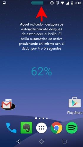 brillo manual automatico android