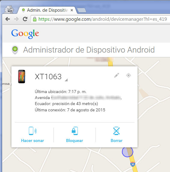 buscar mi iphone para android