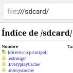 file:///sdcard/ TRUCO para ver abrir archivos de Android con Chrome