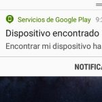 Esta simple notificación será la culpable de que JAMÁS puedas recuperar tu celular robado