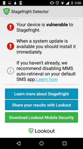 "Motorola Moto G 2014 con Android 5.0.2 Lollipop es vulnerable a ""StageFright"""