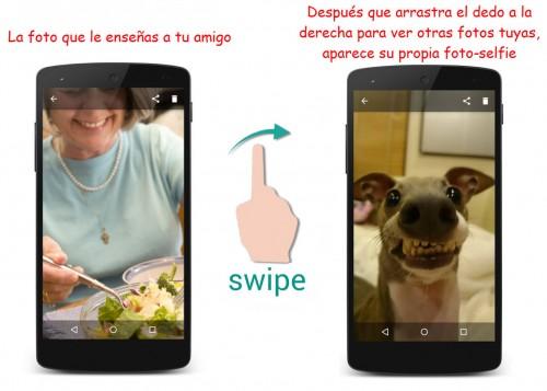 mostrar fotos celular