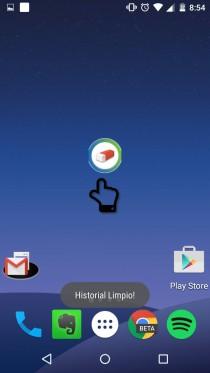 borrar registro llamadas sms android