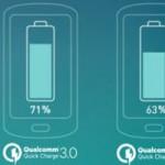 Carga rápida 3.0 de Qualcomm permitirá cargar baterías 4 veces más rápido de lo normal