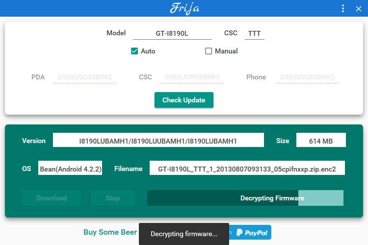 Frija descarga el software Android oficial para tu Samsung
