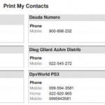 Convierte tu lista de contactos (VCF) en un amigable archivo PDF para imprimir