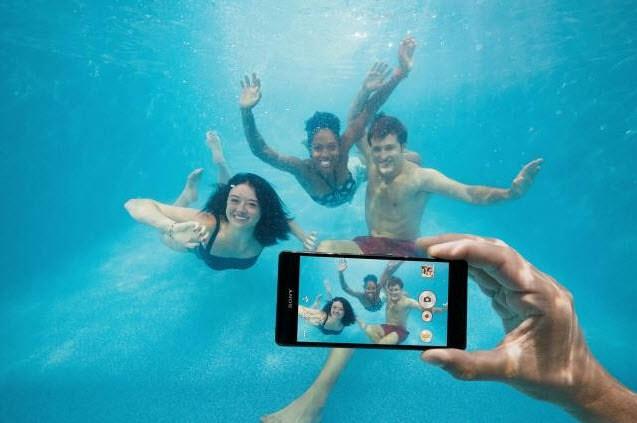 Imagen de prensa usada por Sony para promocionar el smartphone Xperia Z3