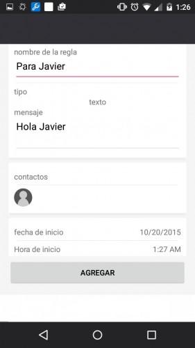 programar mensaje whatsapp android