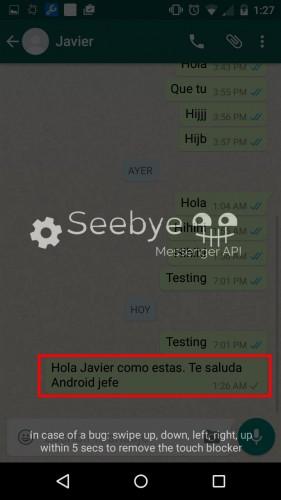 programar mensajes whatsapp android