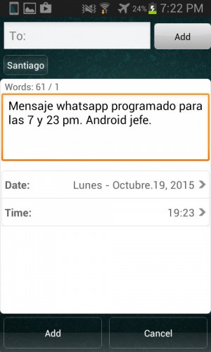 programar mensajes whatsapp message scheduler