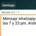 Cómo programar mensajes de Whatsapp