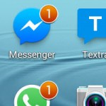 Cómo quitar el contador que aparece en los iconos de ciertas aplicaciones de mensajería (Samsung Galaxy)