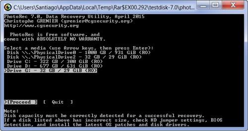 recuperar archivos borrados sd media disk