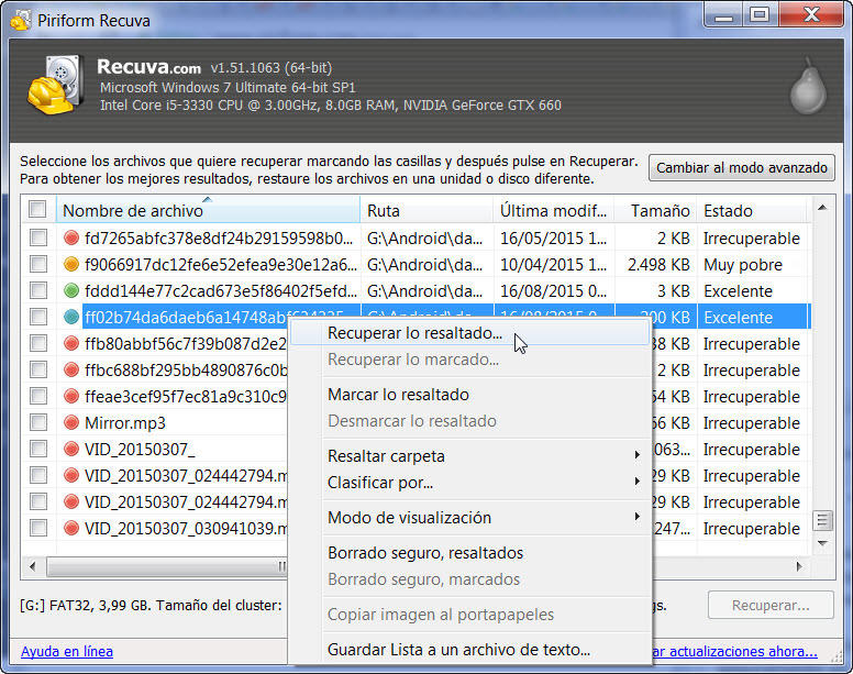 como recuperar archivos eliminados windows 8