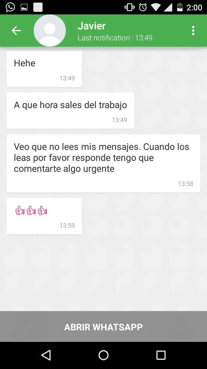 como ver mensajes whatsapp sin conectarse