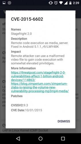 app analizar android vulnerabilidades criticas