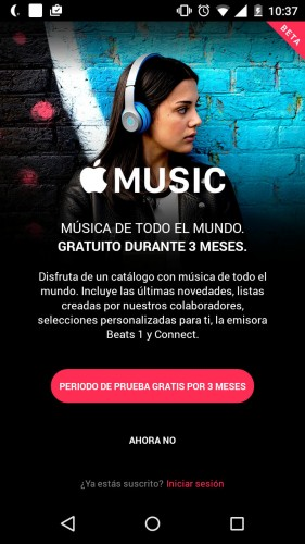 apple music no sirve sin tarjeta credito