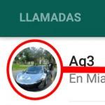 Usar la foto de WhatsApp en un contacto de Android