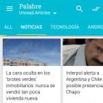 Lee la web en tu Android con Palabre