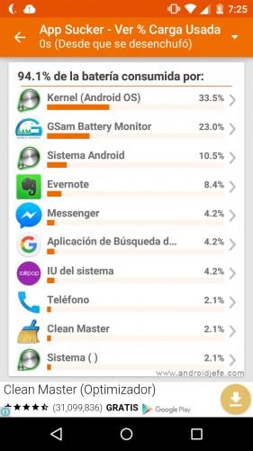 consumo bateria apps