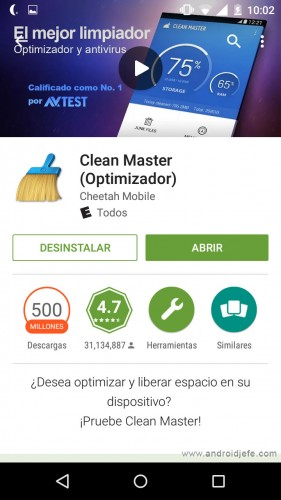 clean master google play