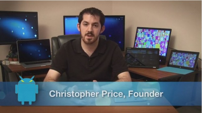 Christopher Price, fundador de Console OS, el mod de Android para PC